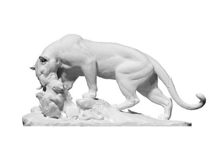 Picture of Panther Sculpture