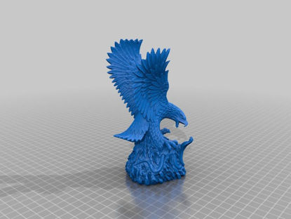 Picture of Eagle Sculpture By 3DWP