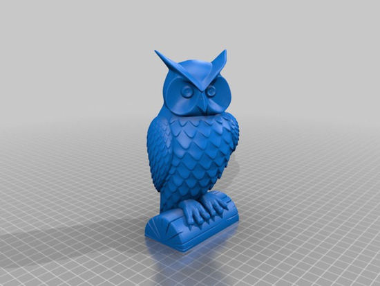 Picture of Owl Statue By Cushwa