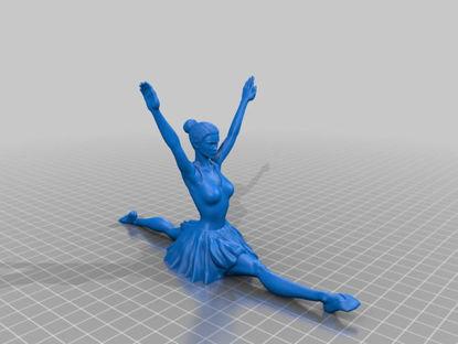 Picture of Ballet Dancer II By Double_Alfa