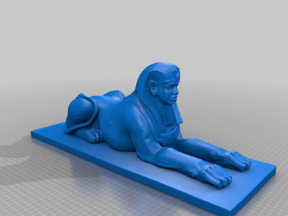 Picture of Human Sphinx