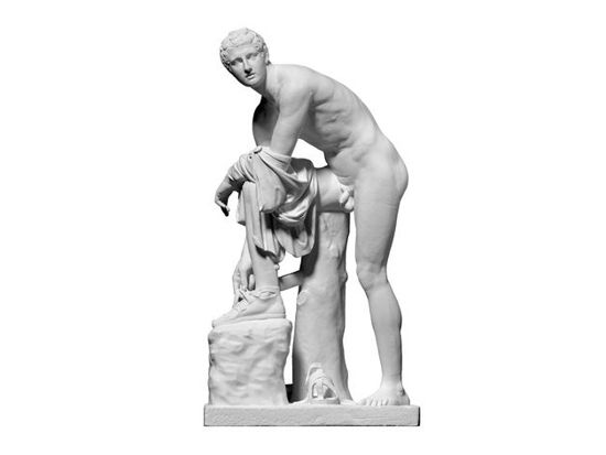 Picture of Hermes Fastening His Sandal