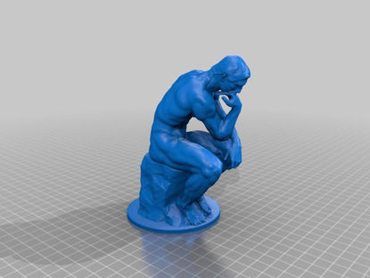 Picture of The Thinker