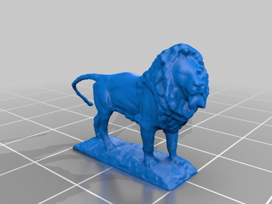 Picture of Art Instituion Of Chicago Lion