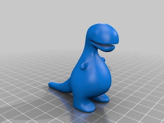 Picture of Fat Dino By Deadlygeek