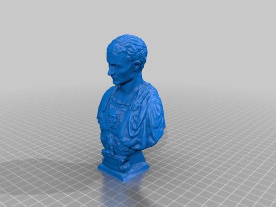 Picture of Julius Caesar Bust