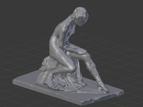 Picture of Bather by Jean Antoine Houdon