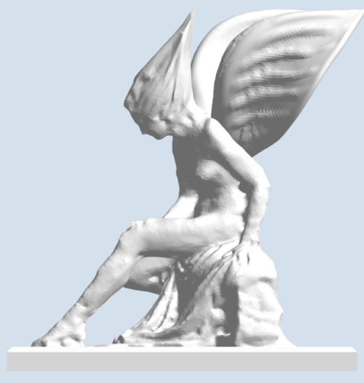 Picture of Winged Bather