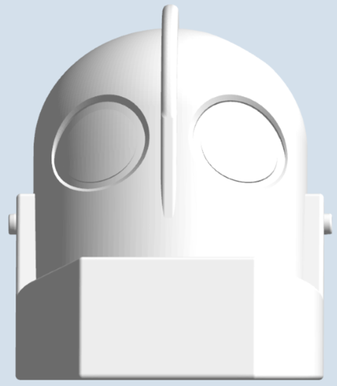 Picture of Iron Giant Head