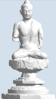 Picture of Tang Dynasty Buddha