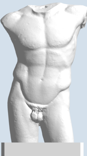 Picture of Male Torso, Diadumenus Type