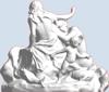 Picture of Triton And A Naiad Fountain in Vienna, Austria