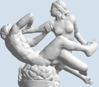 Picture of Satyr and Hermaphrodite