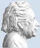 Picture of Albert Einstein Bust